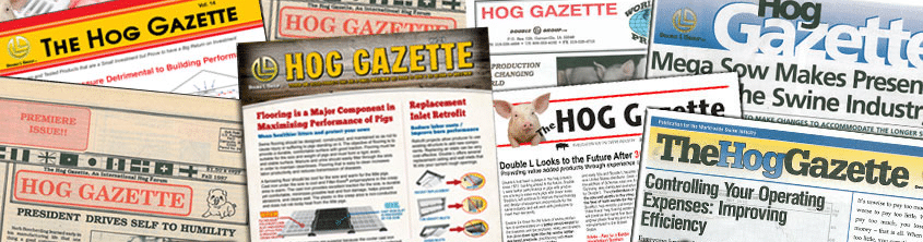 Hog Gazette Catalogs from Double L