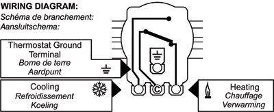 TH415 Thermostat Wiring Diagram