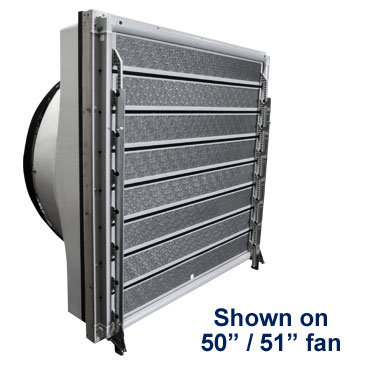 "IS8 Insulated Shutter on 50"" and 51"" Fan"