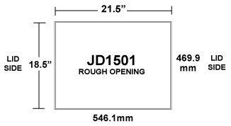 JD1501 Inlet Rough Opening