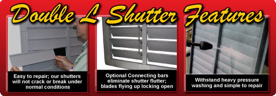 PVC Fan Shutter Features
