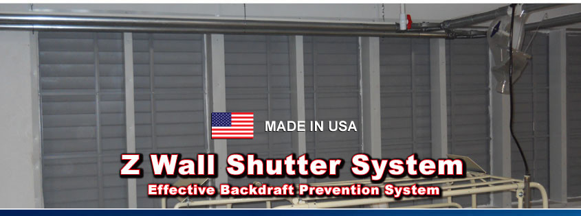 Snap Together Shutters and Z Wall Shutter System