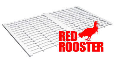 Classic Red Rooster Floor