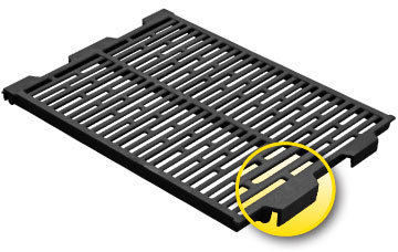 Flat Interlocking Cast Iron Floor for Sows