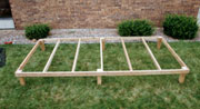 Double L Dog Kennel Flooring Installation - Step 1