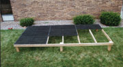 Double L Dog Kennel Flooring Installation - Step 2
