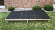 Double L Dog Kennel Flooring Installation - Step 3