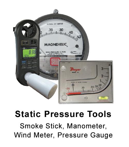 Static Pressure Tools